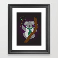 Magical Koala Framed Art Print