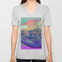 Sea of Clouds for Dreamers Unisex V-Neck