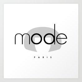 Edna Mode PARIS Art Print