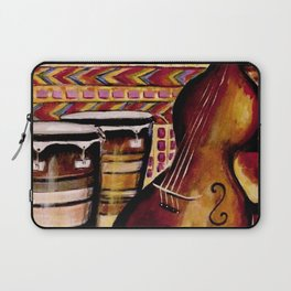 Bass and Congas Laptop Sleeve
