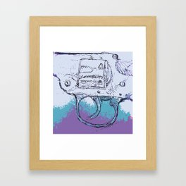Free Trial Offer Framed Art Print