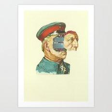 la Pantera Fuerte Art Print