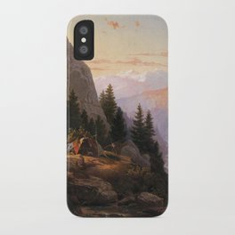 Sugar Loaf Peak El Dorado County 1865 By Thomas Hill | Reproduction iPhone Case