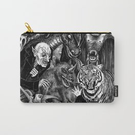 Fear Is The Devil Carry-All Pouch