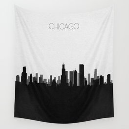 City Skylines: Chicago Wall Tapestry