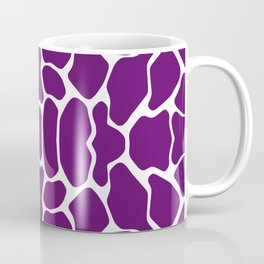 African Violet Safari Giraffe Coffee Mug
