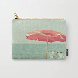 Deserted Beach Carry-All Pouch