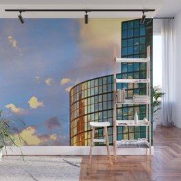 Minimalist Skyline Wall Mural