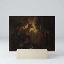 Rembrandt - The Denial of St Peter Mini Art Print