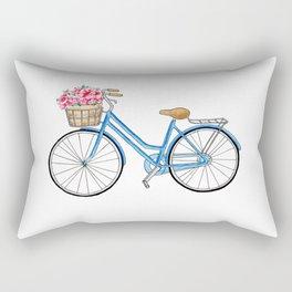 Bicycle art Bicycle print Bicycle wall art Bicycle poster Vintage bicycle art Rectangular Pillow