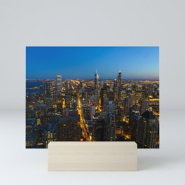Windy City Views Mini Art Print