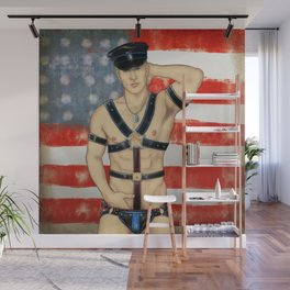 Commanding Officer Wall Mural