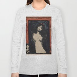 MADONNA - EDVARD MUNCH Long Sleeve T-shirt