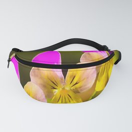 Colorful violets  - beauties of nature - #Society6 - #Buyart Fanny Pack