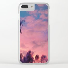 #pink Clear iPhone Case
