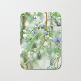Blueberry Days Bath Mat