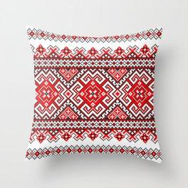 Cross stitch pattern Throw Pillow