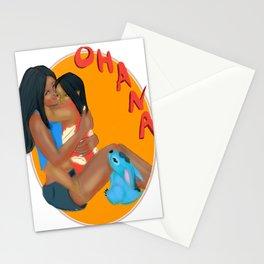 Ohana Stitch Fanart Stationery Cards