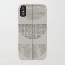 Geometric Composition III iPhone Case