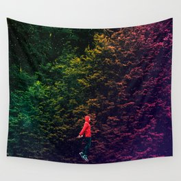 I know this shortcut through the stars Wall Tapestry