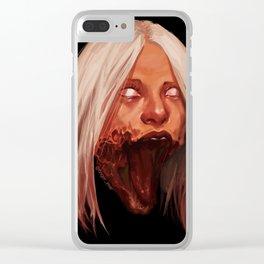Modern Hysteria Clear iPhone Case