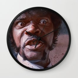 Pulp Fiction Jules Winfield (Great Vengeance) Wall Clock