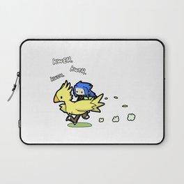 Saix and Chocobo Laptop Sleeve