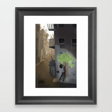 A Tree Grows in Brooklyn Framed Art Print