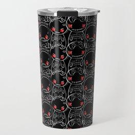 Zugaikotsu Allover Black Travel Mug