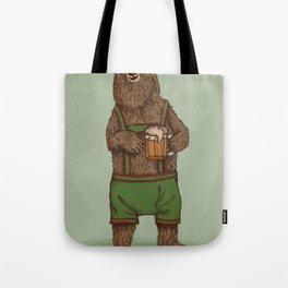Traditional German Bear Tote Bag