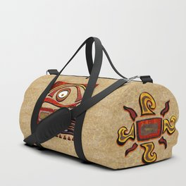 Chu Mtu African Folk Art Duffle Bag