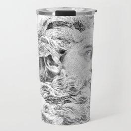 Neptune God of the Sea Travel Mug