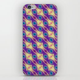 The Nuclei - Colorway 2 iPhone Skin