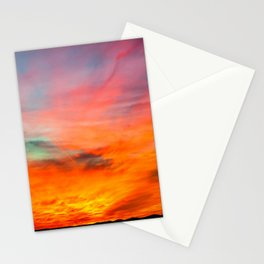 Coos County Sunset #3 Stationery Cards