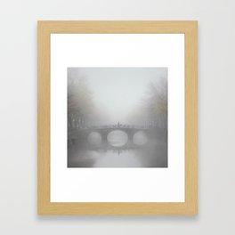 Translucent Amsterdam Framed Art Print