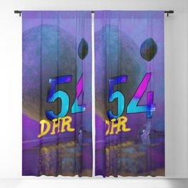 Space Ruin (DHR54) Blackout Curtain