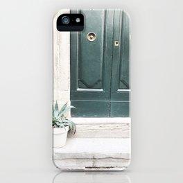 Doors of Rome, Gold circles iPhone Case