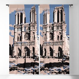 Visit Paris The Notre-Dame Cathedral Blackout Curtain