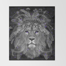 Don't Define Your World (Chief of Dreams: Lion) Tribe Series Throw Blanket