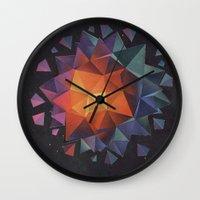 diamond Wall Clocks featuring Diamond by fotos de almanaque
