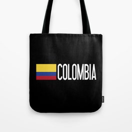 Colombia: Colombian Flag & Colombia Tote Bag