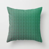 greece Throw Pillows featuring Greece by Gabriele Omar Lakhal