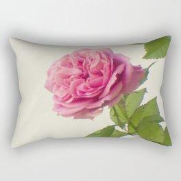 A single rose Rectangular Pillow
