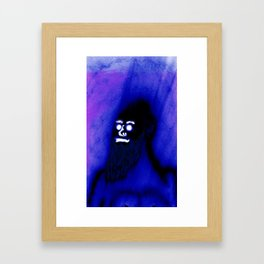 Bearded Gorilla Framed Art Print
