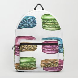 Colorful Macaroon Variety Backpack