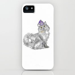 Cat Wizard iPhone Case
