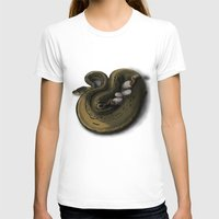monty python T-shirts featuring Ball Python Family Art by TheShamanOfRavens
