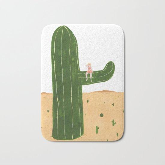 Cacti Princess Bath Mat