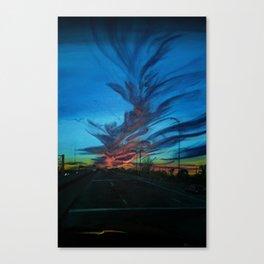 Twilight Drive Canvas Print
