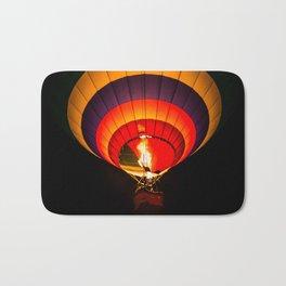 Night hot air balloon adventure Bath Mat